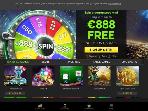 888 Casino Deals