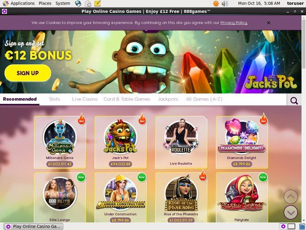 888 Games Casumo Casino