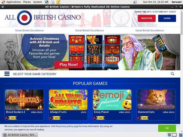 All British Casino Danske