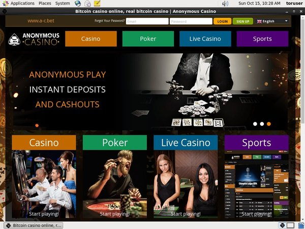 Anonymous Casino Joining Promo