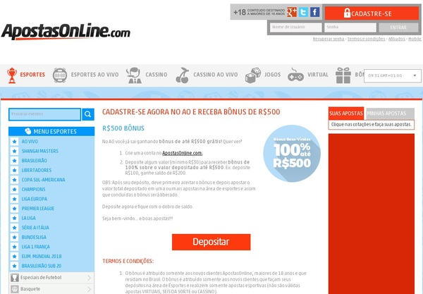 Apostas Online For Real
