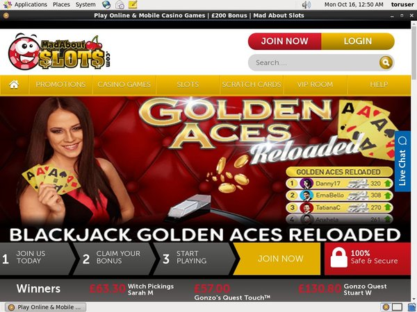 Best Bonus Mad About Slots
