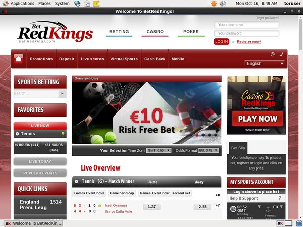 Bet Red Kings New Account
