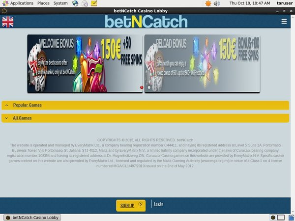 Betncatch No Deposit Code