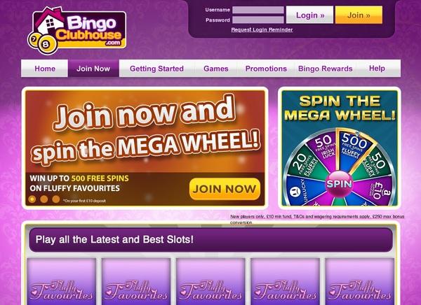 Bingo Clubhouse Deposit Bonus
