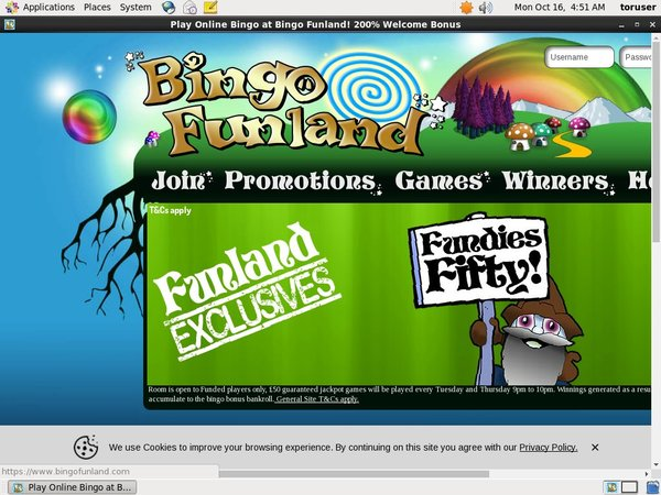 Bingo Funland How To Sign Up