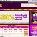 Bingo Legacy Primer Depósito