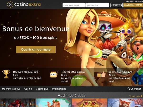 Casino Extra (French) With Skrill