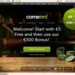 Comeon Online Casino Reviews
