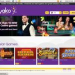 Create Yako Casino Account