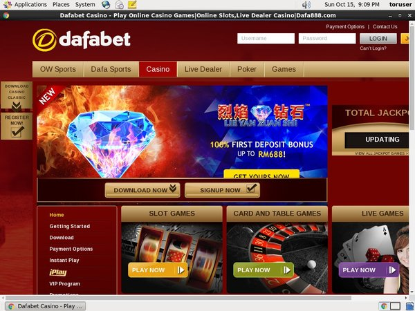 Dafabet Joining Offer