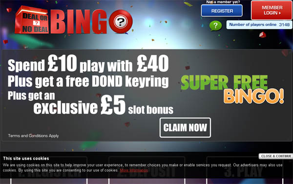 Dealornodealbingo Pounds No Deposit