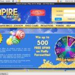 Empire Bingo Willkommensbonus