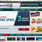 Euroslots Signup Bonus Offer