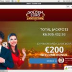 Golden Euro Casino Match Bonus