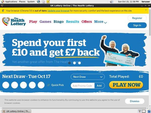 Health Lottery Vip Customers