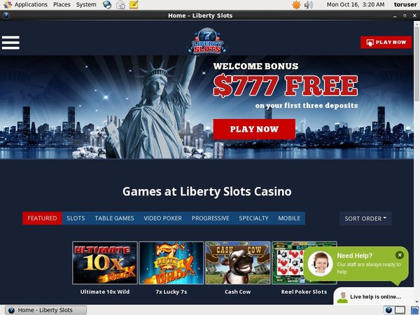 Libertyslots Deposit Options