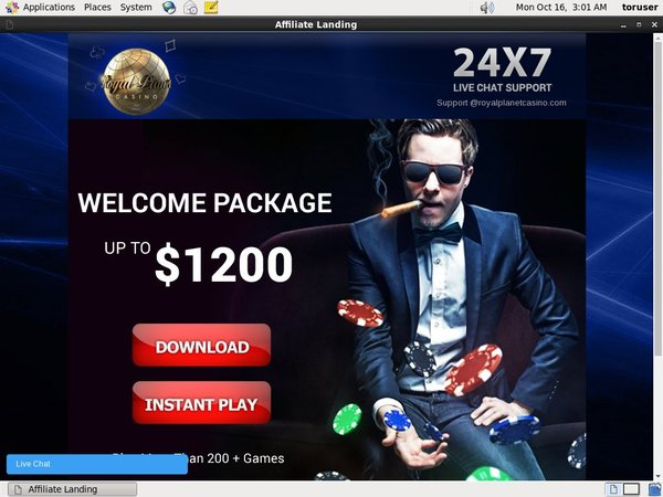Live Casino Royal Planet