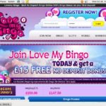 Lovemybingo Free Account