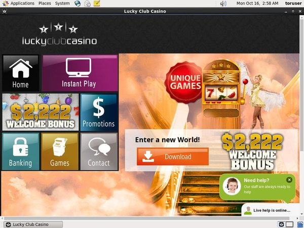 Lucky Club Casino Free Spins