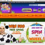 Lucky Cow Bingo Bonus Bet