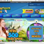 Lucky Touch Bingo Deposit Offer