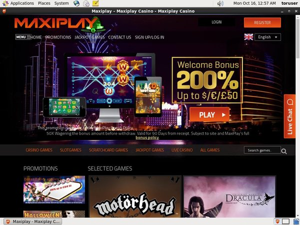 Maxi Play Free Promo Code