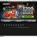 Moneygaming 1st Deposit Bonus