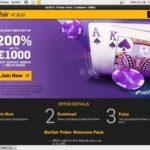 Offer Betfair Poker