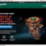 Paddy Power Poker Depósito