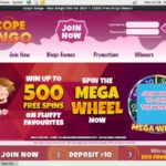 Scope Bingo Welcome Bonus Offer