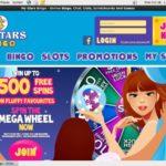 Sign Up For My Stars Bingo