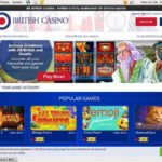 Signup All British Casino