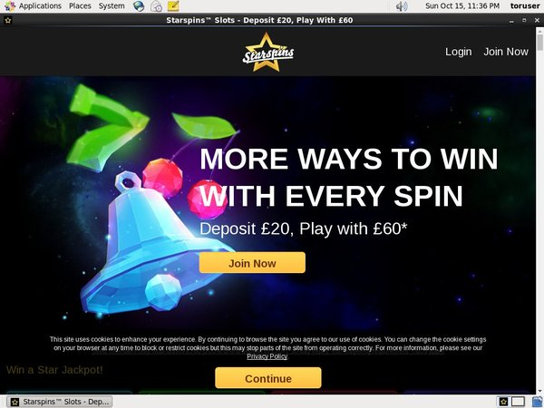 Starspins Free Bet Rules