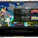 Vegasparadise Sign Up Promo