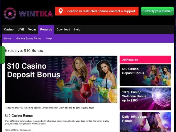 Wintika Create Account