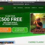Casinoclassic Limited Bonus