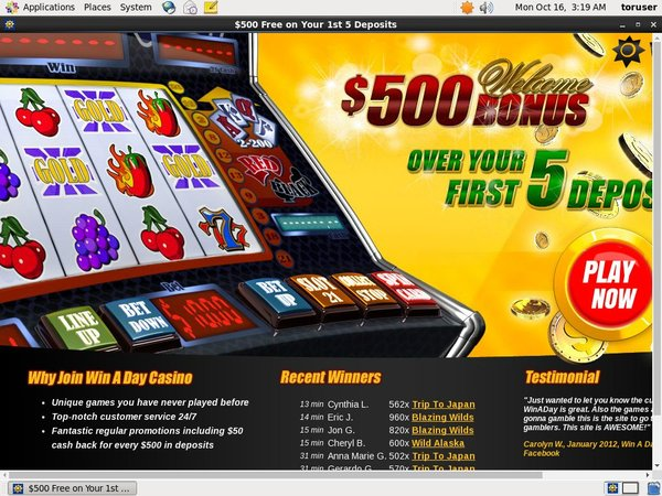 Win A Day Casino Paybyphone