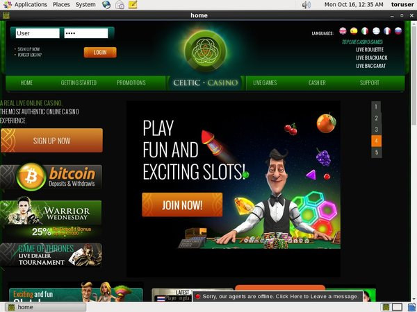 Celticcasino Vip Account