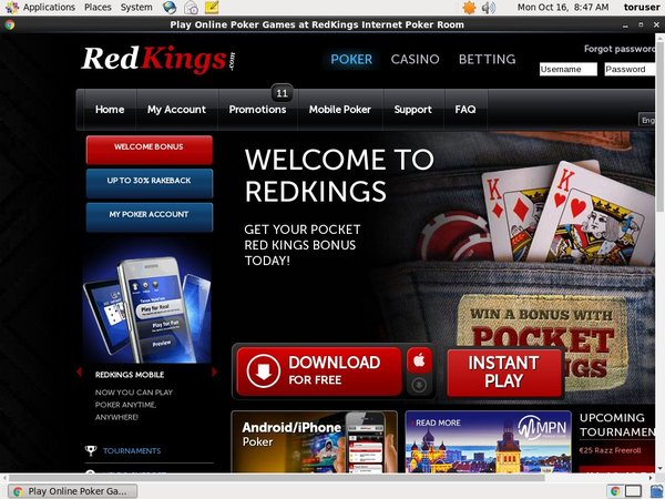 Redkings Pounds No Deposit
