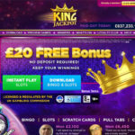 Welcome King Jackpot Bonus