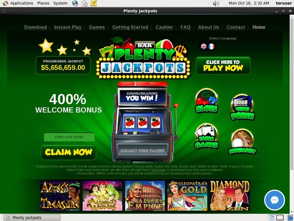 Review Plenty Jackpots