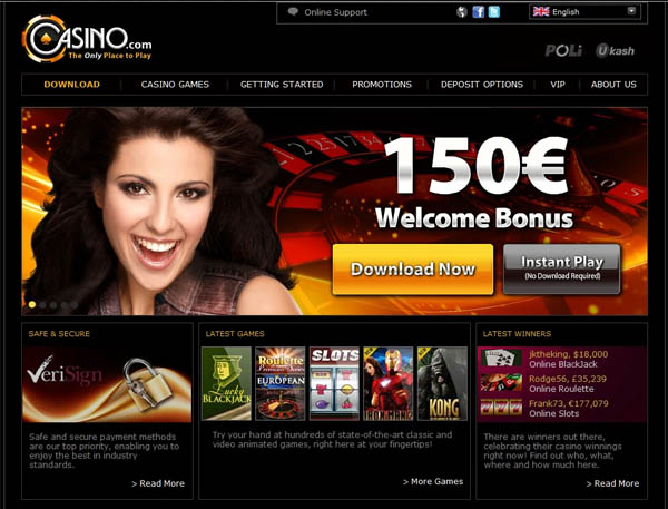 How To Create Casino.com Account