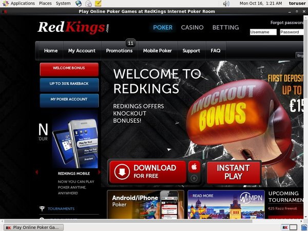 Redkings Casino Mobile