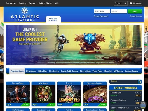 Review Atlanticcasino