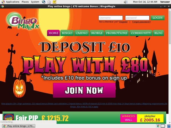 Bingomagix Matched Betting