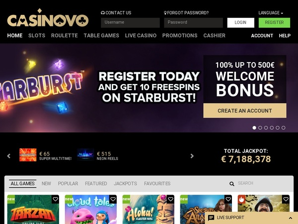 Casinovo Free Slots