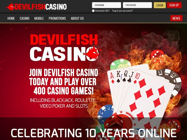 Devilfish Free Sign Up
