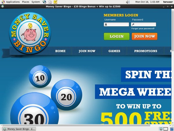 Free Pokies Money Saver Bingo