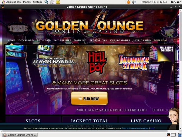 Golden Lounge Joining Offers